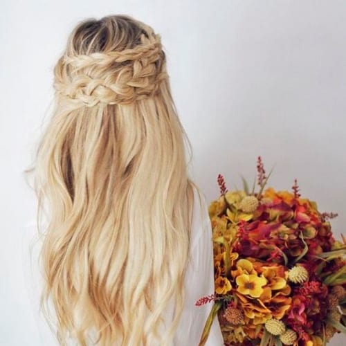 blonde braid hairstyles for long hair
