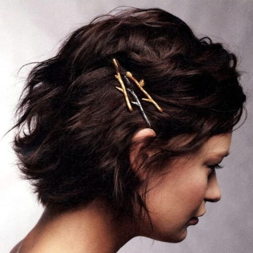 bobby pins short haircuts for women