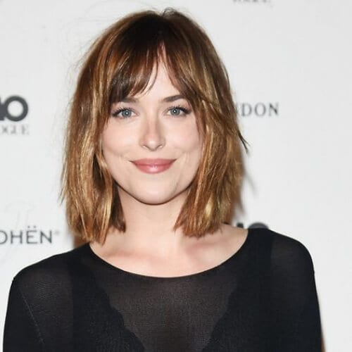 dakota johnson short haircuts for women