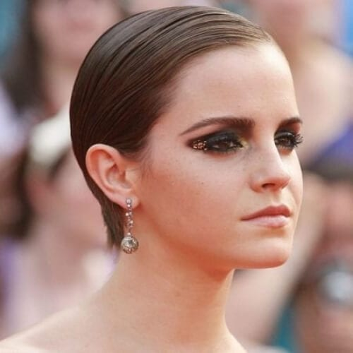 emma watson short haircuts for women