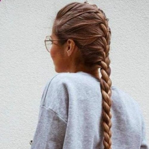 everyday braid hairstyles for long hair