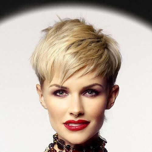 feathery bangs short haircuts for women