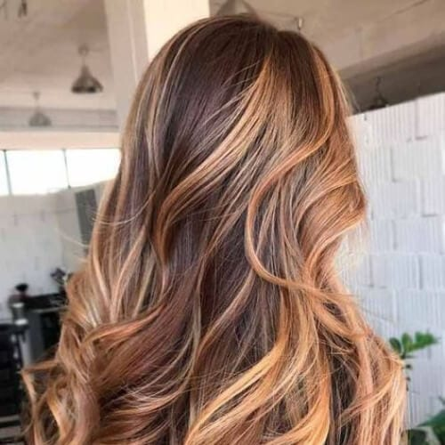 golden blonde brown hair with blonde highlights