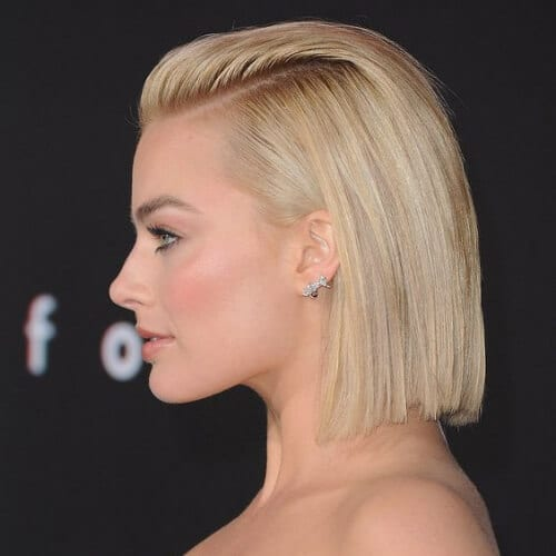 margot robbie short haircuts for women