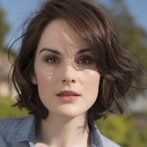 michelle dockery short haircuts for women
