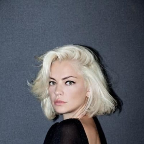 platinum short haircuts for women