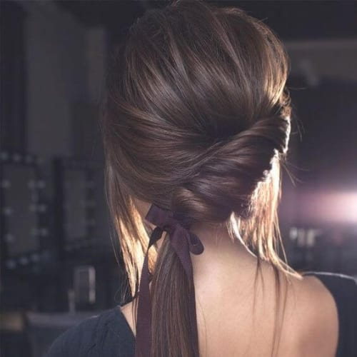 twirled braid hairstyles for long hair