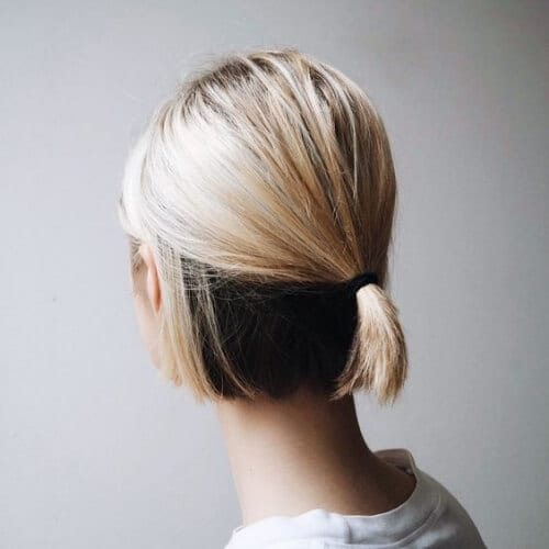 under layer short haircuts for women