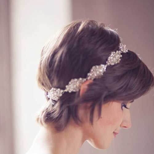 wedding short haircuts for women