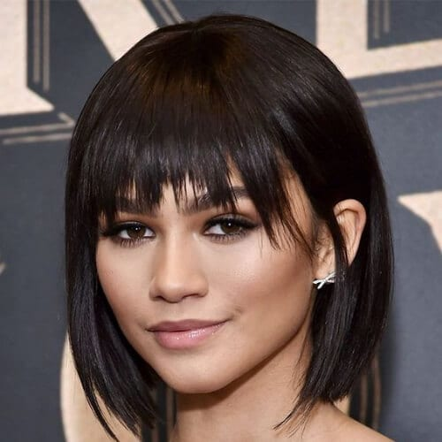 zendaya short haircuts for women