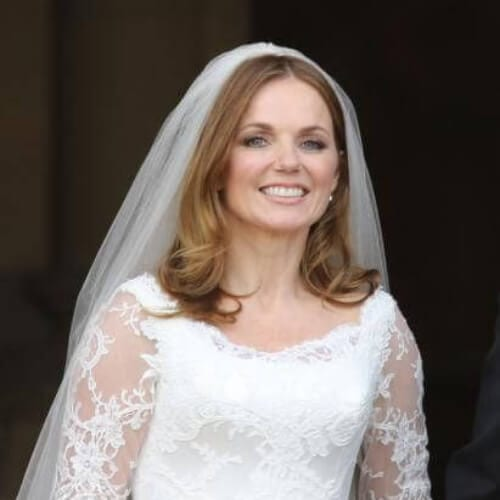 Geri Halliwell wedding updos