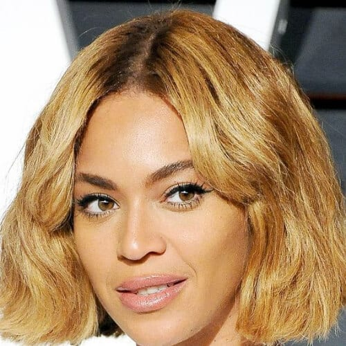 beyonce haircuts for thick hair