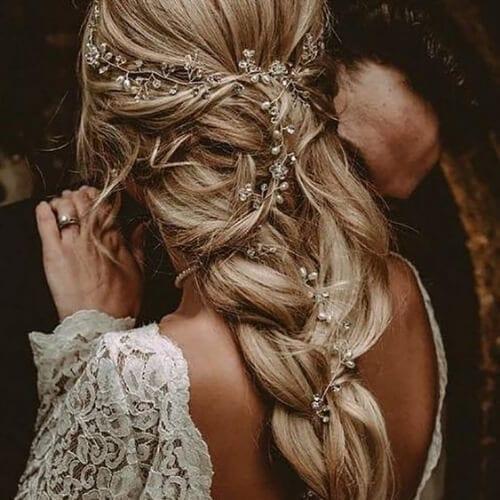 boho wedding updos