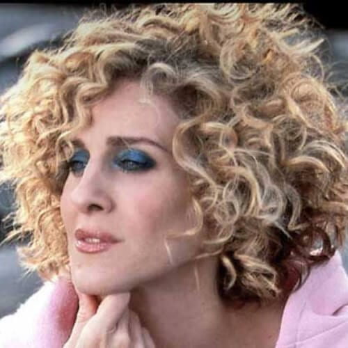 carrie bradshaw haircuts for thick hair