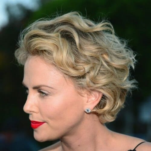 charlize theron haircuts for thick hair