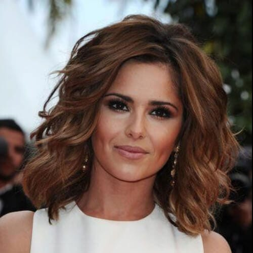 cheryl cole haircuts for thick hair