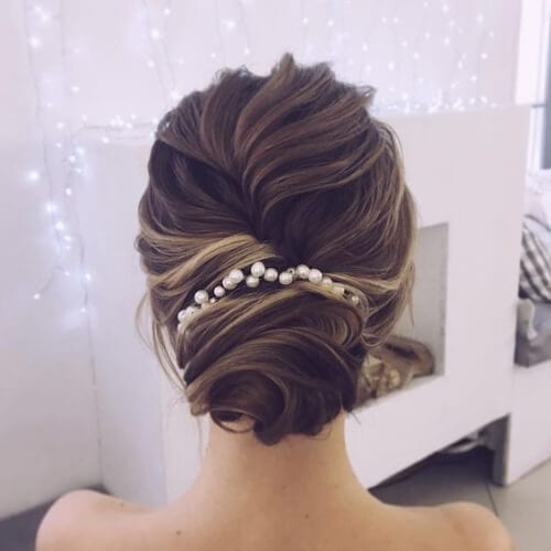 Classic Chignon Wedding Hairstyles: 50 Enchanting Wedding Updos