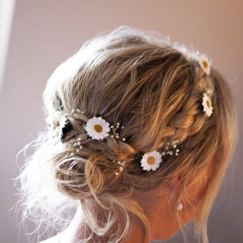 country wedding updos