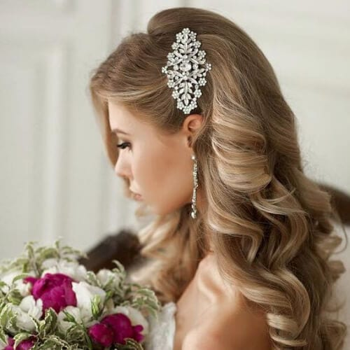 elegant wedding updos