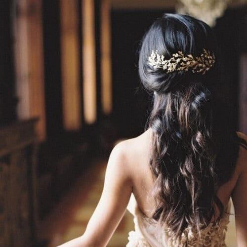 fall wedding updos