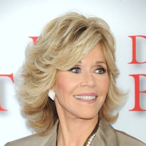 jane fonda haircuts for thick hair