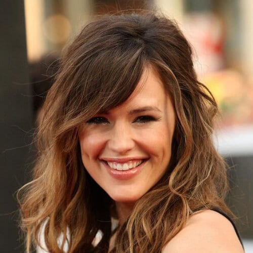 jennifer garner haircuts for thick hair