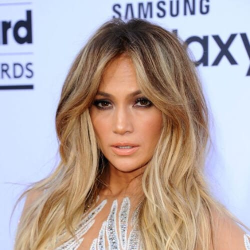 jennifer lopez haircuts for thick hair