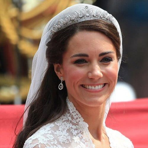kate middleton weddign updos