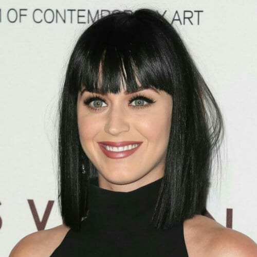 katy perry haircuts for thick hair