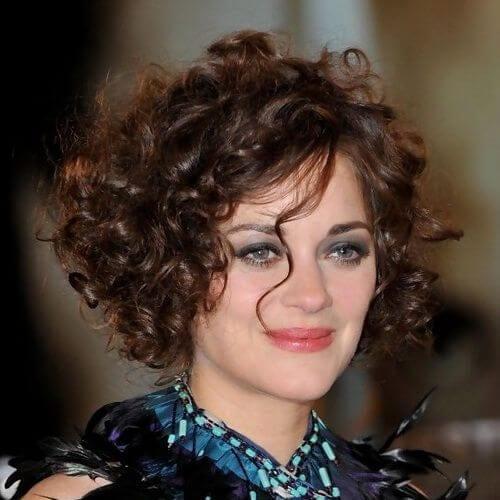 marion cotillard haircuts for thick hair
