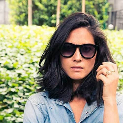 olivia munn haircuts for thick hair