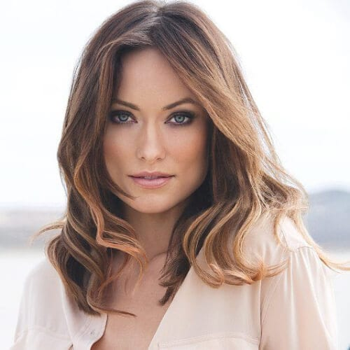 olivia wilde haircuts for thick hair