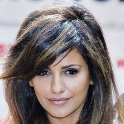 penelope cruz haircuts for thick hair