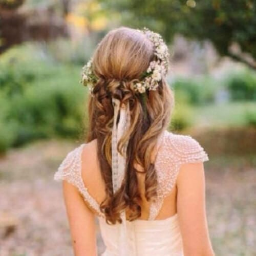 romantic wedding updos
