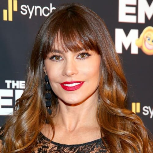 sofia vergara haircuts for thick hair