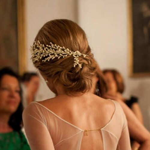 sophisticated wedding updos