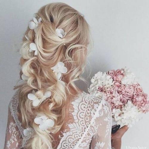 spring wedding updos