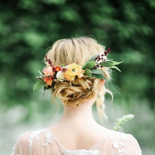 summer wedding updos