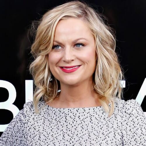 Amy Poehler blonde hairstyles