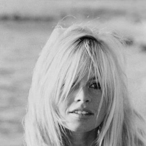 Brigitte Bardot blonde hairstyles