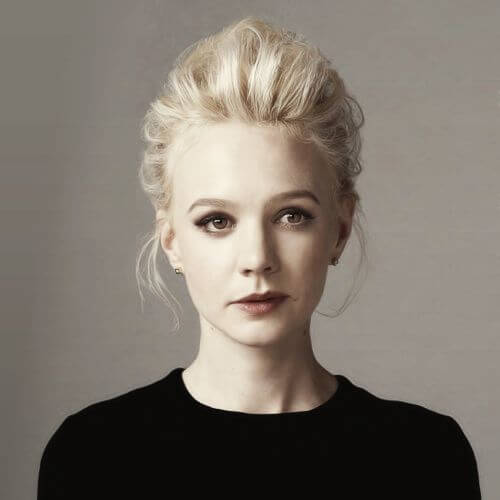 Carey Mulligan blonde hairstyles