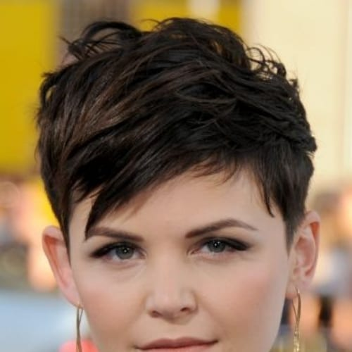 Ginnifer Goodwin prom hairstyles for short hair