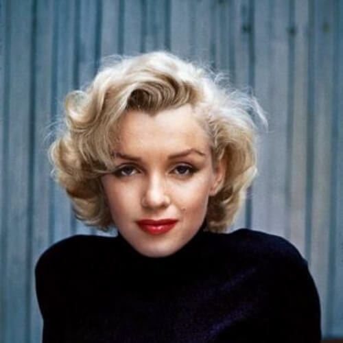 Marilyn Monroe blonde hairstyles