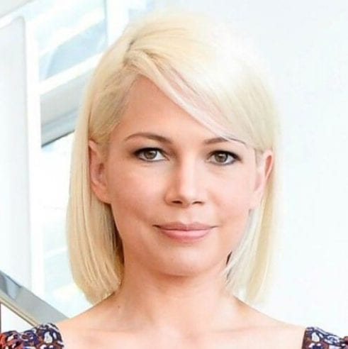 Michelle Williams blonde hairstyles