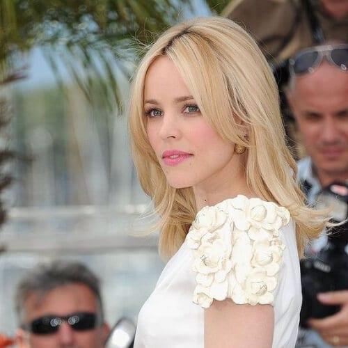Rachel McAdams blonde hairstyles