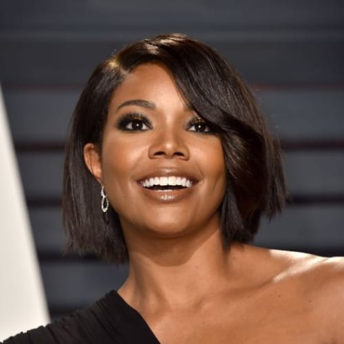 gabrielle union prom hairstyles for short hair