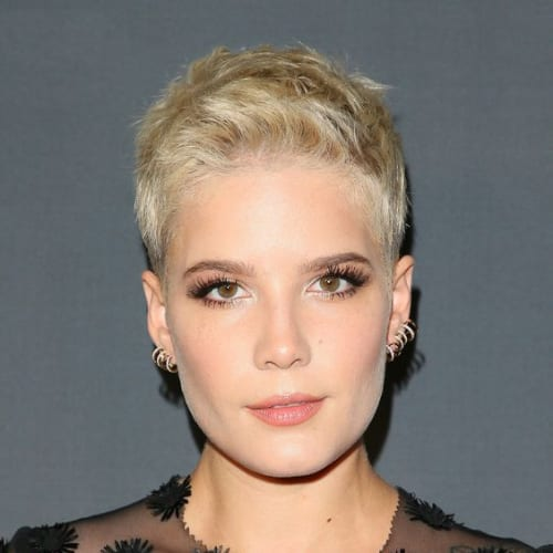 halsey prom hairstyles for short hair