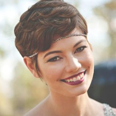 headband prom hairstyles for short hair