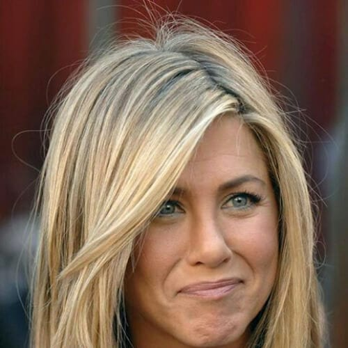 jennifer aniston blonde hairstyles