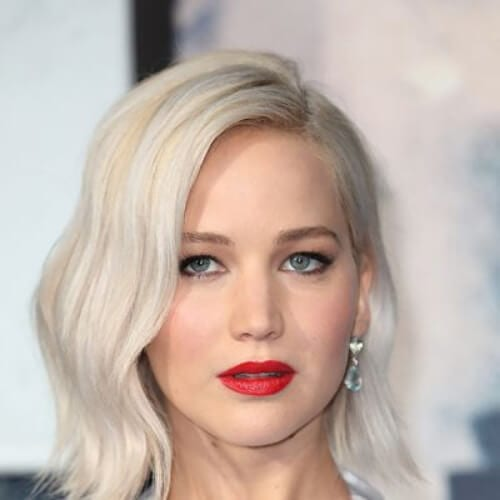 jennifer lawrence blonde hairstyles